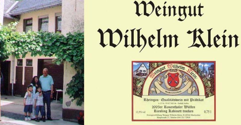 Weingut & Straußwirtschaft Wilhelm Klein